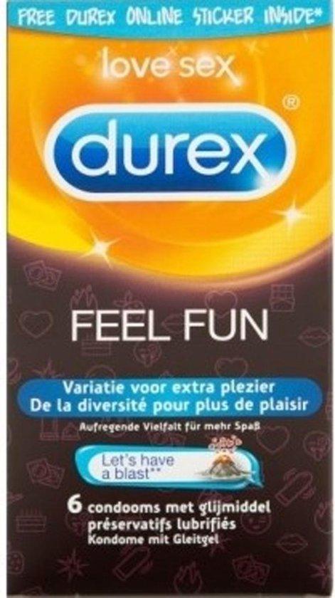 Durex Feel Fun Condooms - 6 stuks