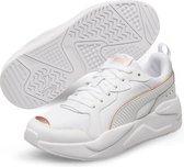 PUMA X-Ray Metallic Dames Sneakers - White/Rose Gold - Maat 39