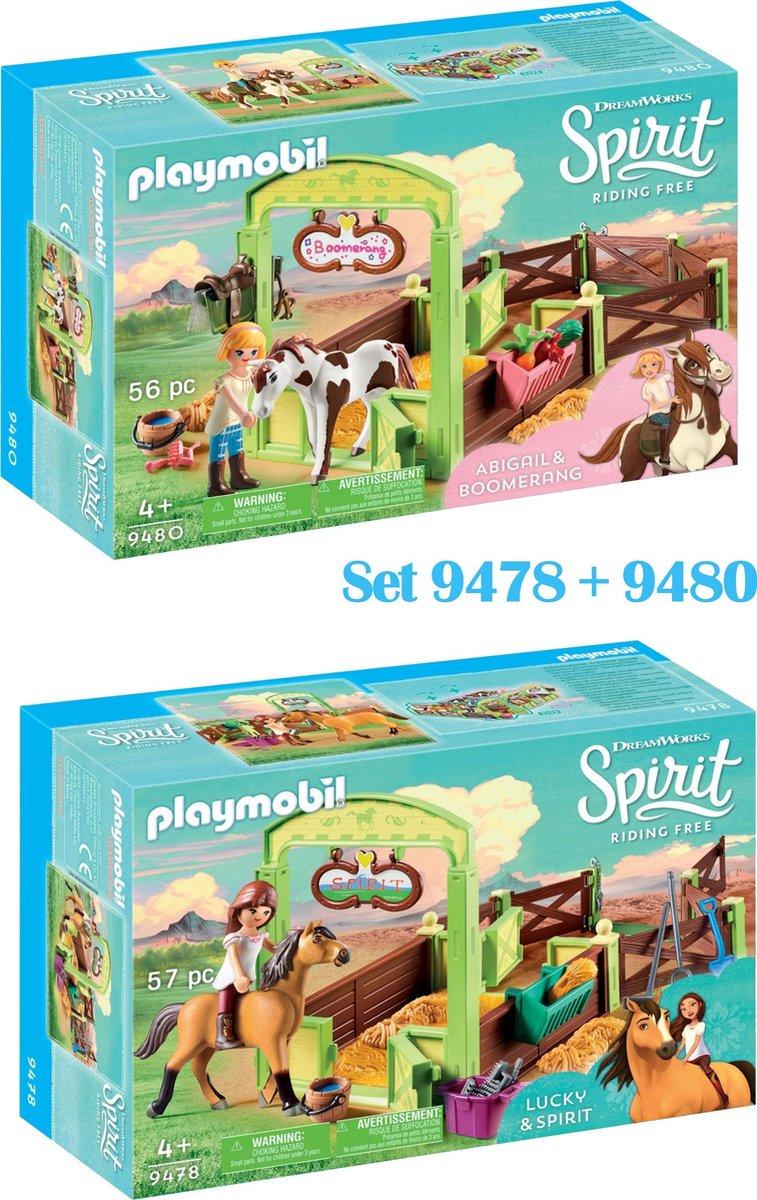 Playmobil Spirit Set van 2 - 9478 + 9480