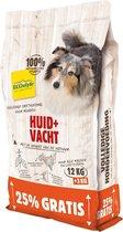 Ecostyle Huid + Vacht Bonusbag - Hondenvoer - 12+3 kg