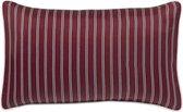 PALAIS Sierkussen Diana (Bordeaux Rood, 50x30 cm) - 100% satijn zijde - Duurzaam - Handgemaakt