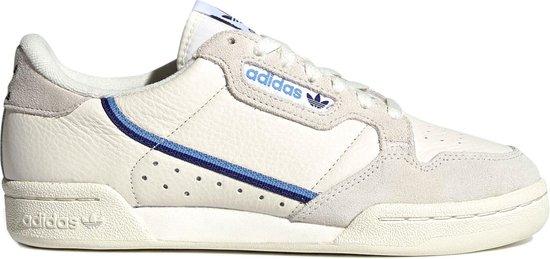 adidas Continental 80 Sneakers - Maat 36 2/3 - Vrouwen - wit/blauw