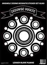 Origineel set kliko decoratie stickers Zeeuwse vuulte