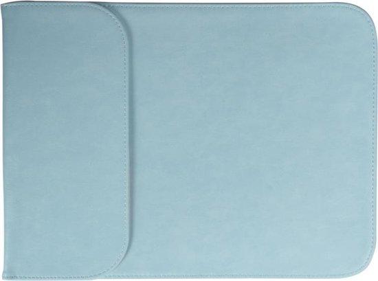 Let op type!! 13 3-inch PU + Nylon tas geval Sleeve laptop dragen laptoptas voor MacBook  Samsung  Xiaomi  Lenovo  Sony  DELL  ASUS  HP(Blue)