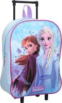 Frozen 2 ANNA & ELSA Trolley Koffer Logeren Vakantie Blauw Lief