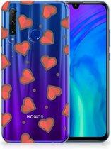 Honor 20 Lite TPU bumper Hearts
