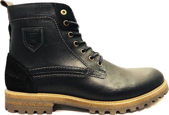 Zwarte Pantofola d'Oro Veterschoenen Pozano High