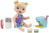 Baby Alive Snackin Pasta Baby Blond Haar - Pop