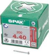 Spax Spaanplaat CK Verzinkt Torx 4.0 x 40 (200) - 200 stuks