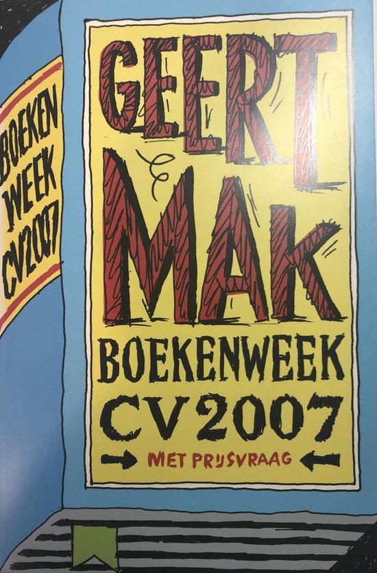 Boekenweek-cv 2007 - none  