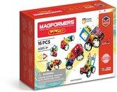 Magformers Wow Set - 16 Onderdelen - Magnetisch speelgoed