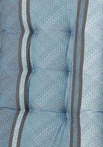 Madison Florance zitkussen 47x47cm Kleur Verry Blue