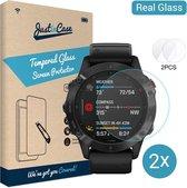 Garmin Fenix 6 / 6 Pro / 6 Sapphire 47mm screenprotector - Tempered Glass - Gehard glas - Just in Case