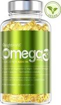 WeightWorld Vegan Omega 3 Supplement van Algenolie - 1000mg per portie - 60 Capsules