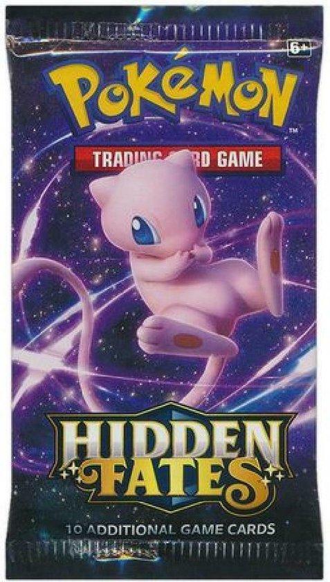 Afbeelding van het spel 1 pakje Pokemon TCG Hidden Fates Pokemon Kaarten