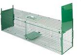 MaxxGarden Vangkooi voor dieren van 100x25x28cm - rattenval - dubbele ingang - opvouwbaar