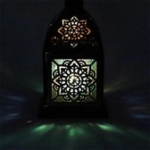 Sfeerlicht oosterse lantaarn Mandala - 9x9x15.5 cm - L