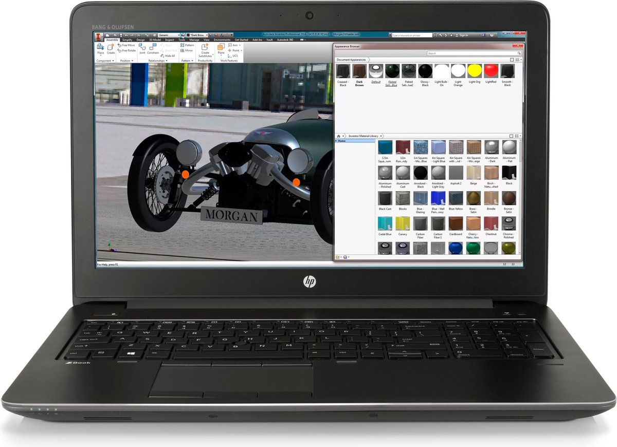 """HP ZBook 15 G4 Zwart Mobiel werkstation 39,6 cm (15.6"""") 1920 x 1080 Pixels Zevende generatie Intel® Core™ i7 16 GB DDR4-SDRAM 512 GB SSD NVIDIA® Quadro® M2200M Wi-Fi 5 (802.11ac) Windows 10 Pro"""