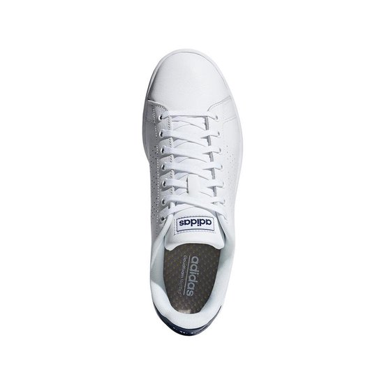 bol.com | adidas Advantage sneakers heren wit/marine