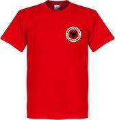 Albanië Badge T-Shirt - M