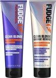 Fudge Clean Blonde Violet Duo Pack 2X250ml