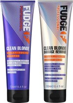 Fudge Clean Blonde Violet Duo Pack 2X250ml