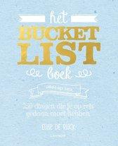 Het Bucketlist boek voor op reis