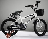 """Generation BMX fiets 12"""" Wit"""