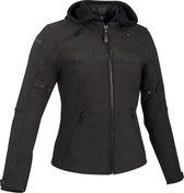 Bering Drift Lady Black Motorcycle Jacket T0