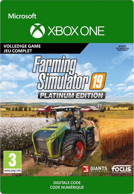 Farming Simulator 19: Platinum Edition - Xbox One download
