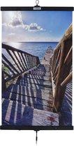 Infrarood verwarming in poster-vorm Stairway to the Sea