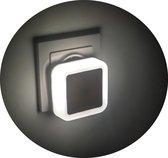 DuskDawn LED Nachtlampje met Smart Sensor - Wit- LED Verlichting - Nachtlampje stopcontact - Kinderen & Baby - Nacht lampje Babykamer - Nacht Lamp - Kinderkamer - Volwassenen - Stopcontact