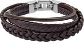 Fossil Vintage Casual JF03190040 Heren Armband - 195 mm