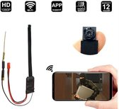 FHD 1080P 1.2MP 25FPS Draadloze Draagbare WiFi Spy Camera Nachtzicht Bewegingsdetectie Gratis APP