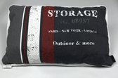 Madison Sierkussen Storage Black 45 x 60 cm