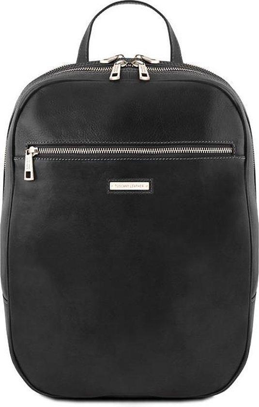 Tuscany leather leren laptoptas Osaka Zwart TL141711