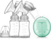 Dubbele Elektrische Borstkolf Kolfapparaat - BPA-Vrij - 150 ml