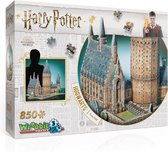 Wrebbit 3D Puzzel - Harry Potter Hogwarts Great Hall - 850 stukjes