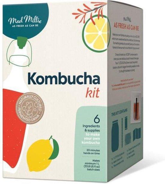 Kombucha zelf maken - Kombucha Startpakket - Kombucha Starter
