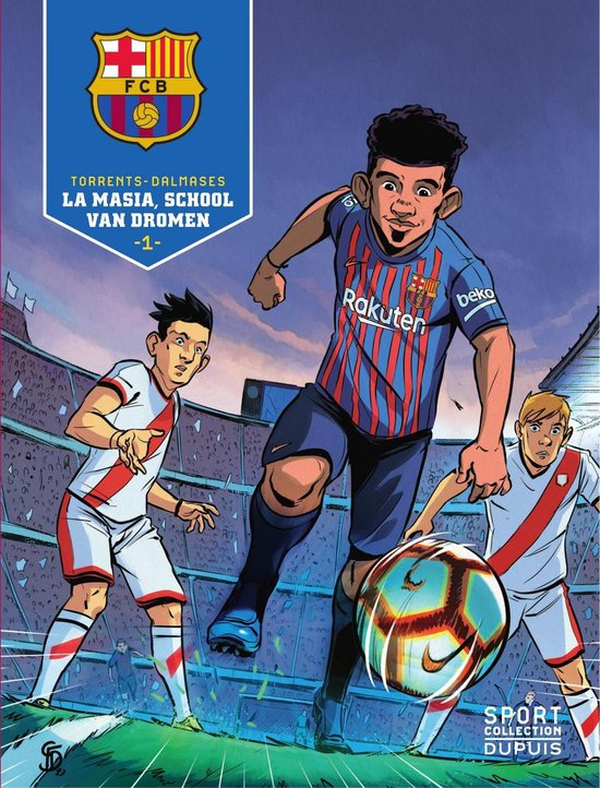 Sport collectie - barcelona 01. la masia, school van dromen - Eduard Torrents |
