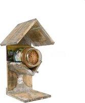 Buzzy Bird - vogelvoederhuis pindakaaspothouder -