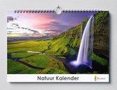 Cadeautip! | Natuurkalender 35x24 cm | Verjaardagskalender Natuur