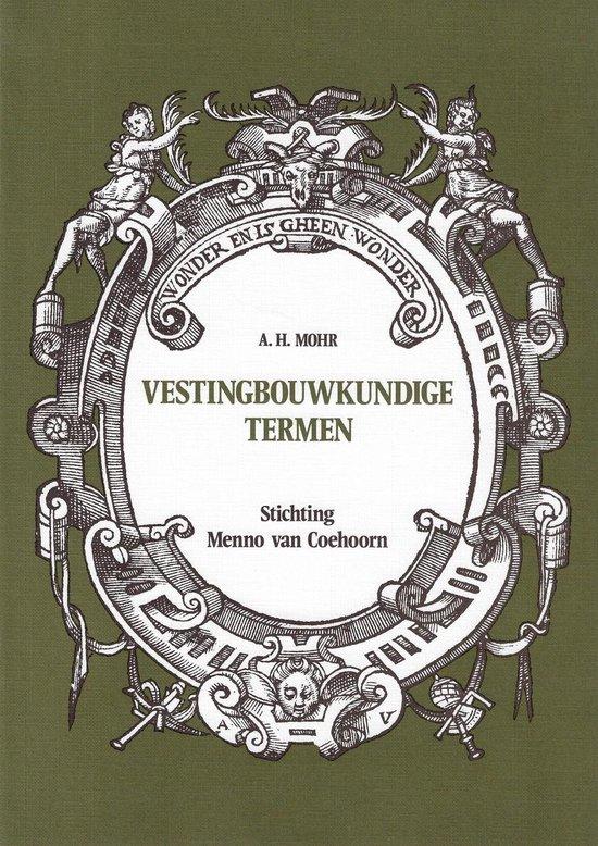 VESTINGBOUWKUNDIGE TERMEN - C.M. Schulten |