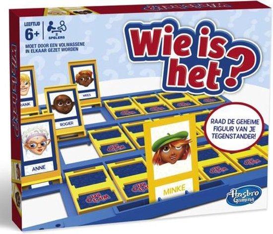 Afbeelding van het spel Hasbro - Wie Is Het? - Kinderspel