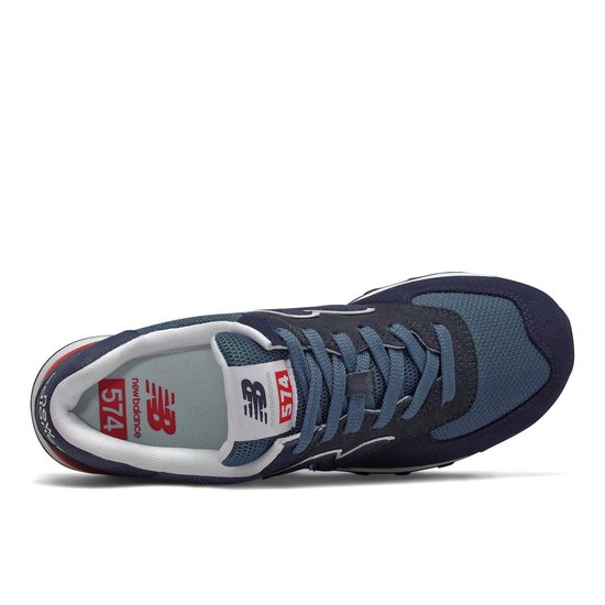 New Balance ML574 D Heren Sneakers - Navy - Maat 45.5