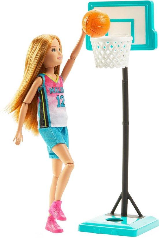 Barbie Dreamhouse Adventures Basketbalspeler Stacie (23 cm) - Barbiepop