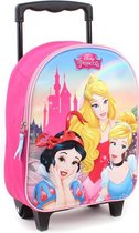 Disney Trolley Rugzak Princess Enchanted 3d - Roze