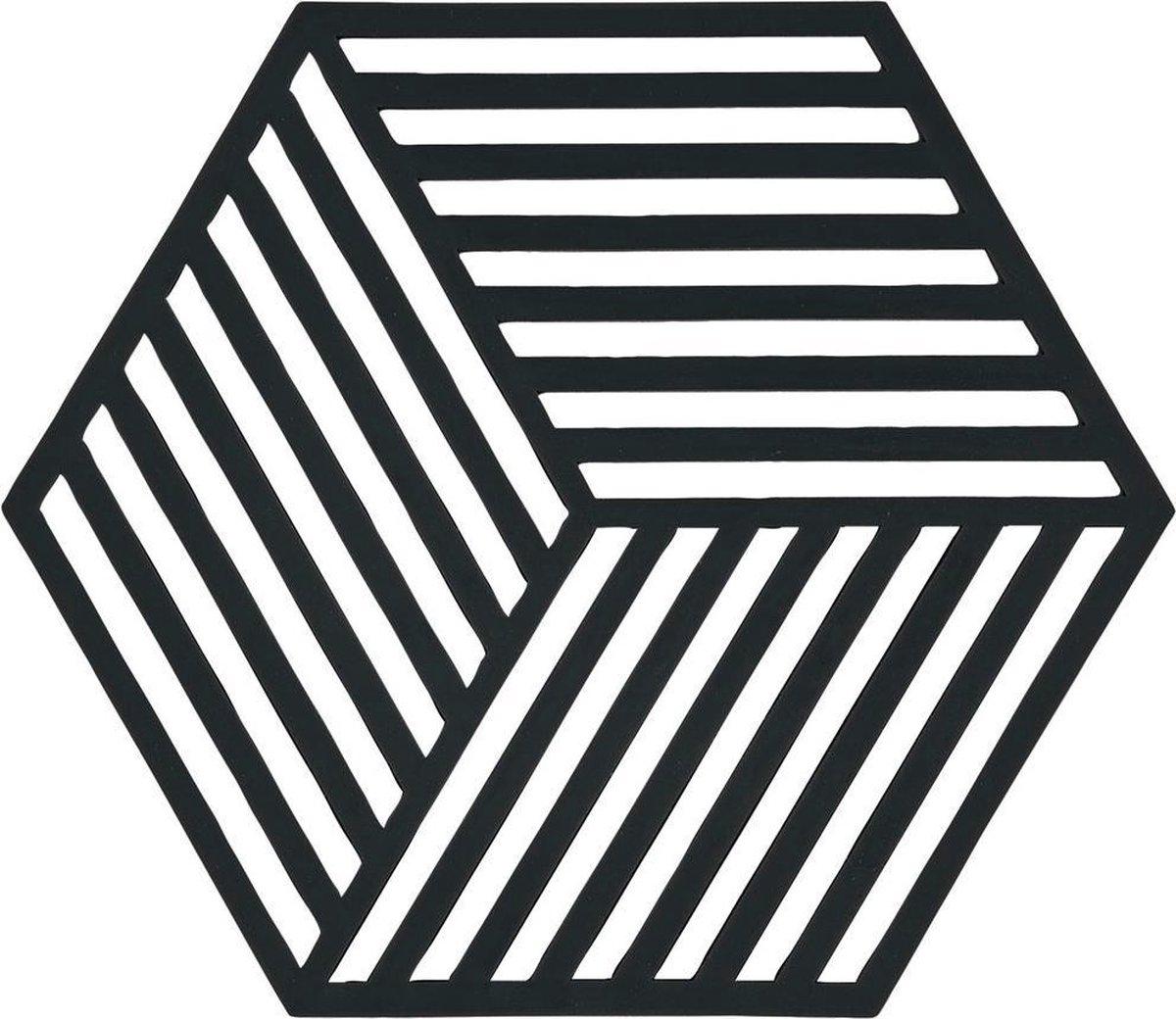Zone Denmark Hexagon onderzetter - zwart
