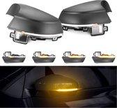 Dynamische Dynamic Knipperlichten Geschikt voor Vw Polo 6R 6C Gti Tsi Tdi Led Spiegel Buitenspiegel