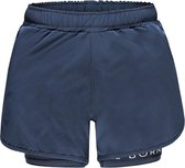 Re-Born 2 Laagse Stretch Short Dames - Navy - Maat L